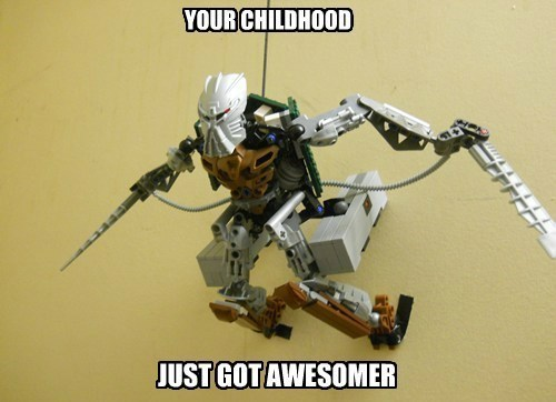 crossover,anime,attack on titan,bionicle