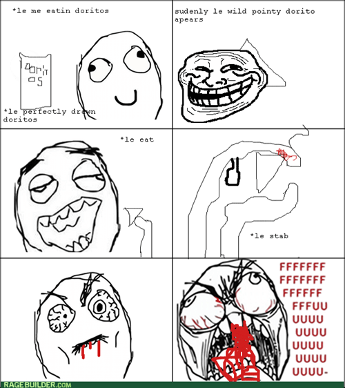 trollface,pain,doritos