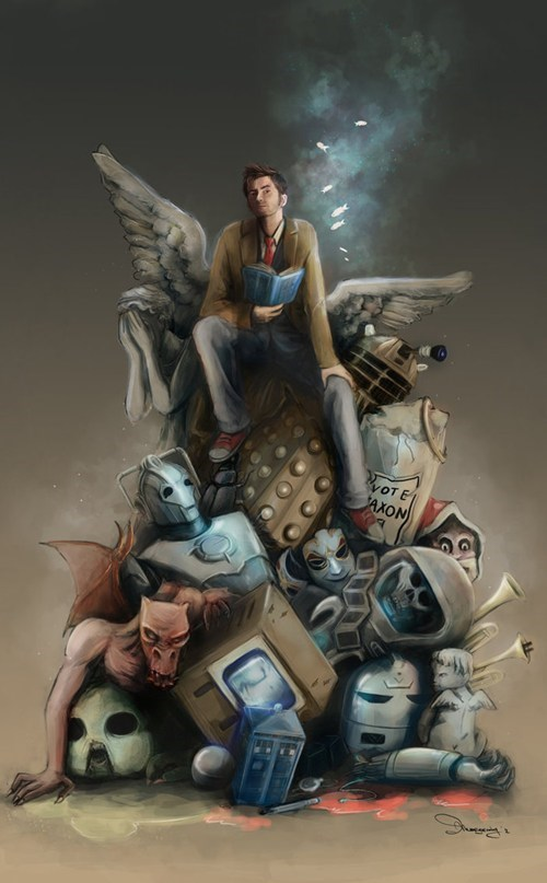 10th doctor Fan Art doctor who - 7827490048