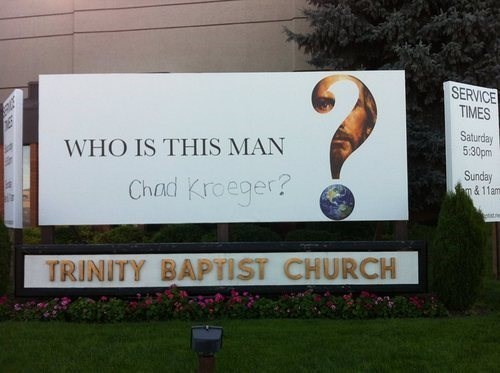 nickelback chad kroeger church