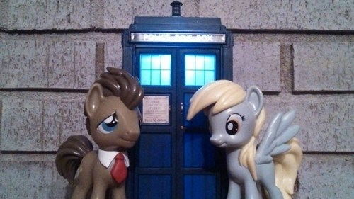 derpy doctor whooves tardis - 7827554304
