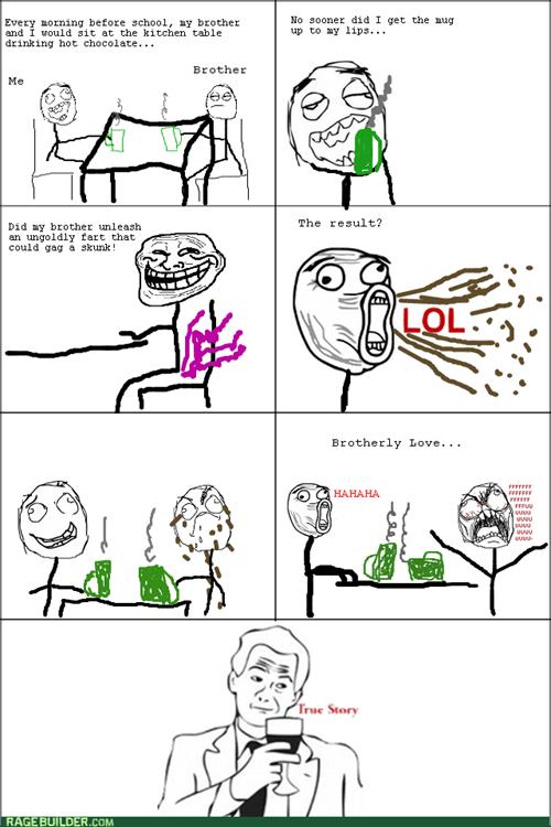 trollface brotherly love true story brothers - 7827576832
