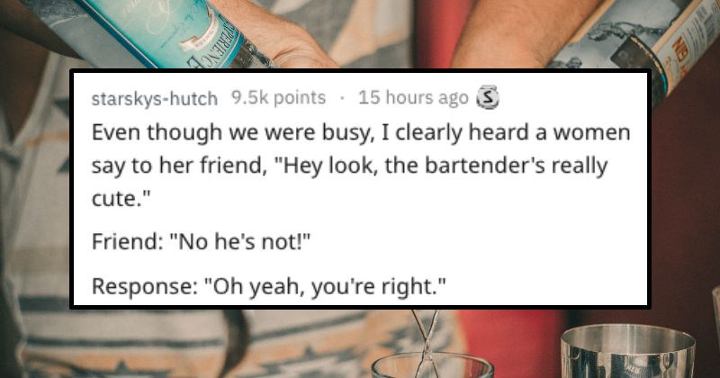 stories from bars
