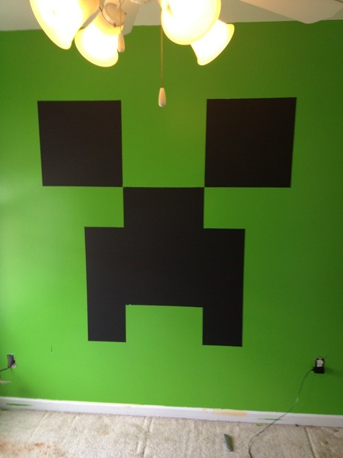 Minecraft bedroom WIN!