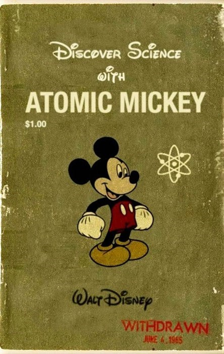wtf mickey mouse science funny - 7828124160