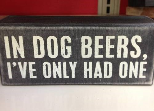 beer dogs quote funny after 12 g rated