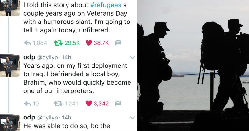 twitter veterans war emotional faith in humanity restored social media - 7829253