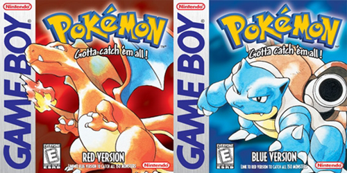 Happy 15th Anniversary Pokémon Red and Blue!