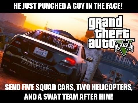 cops grand theft auto v - 7829614336