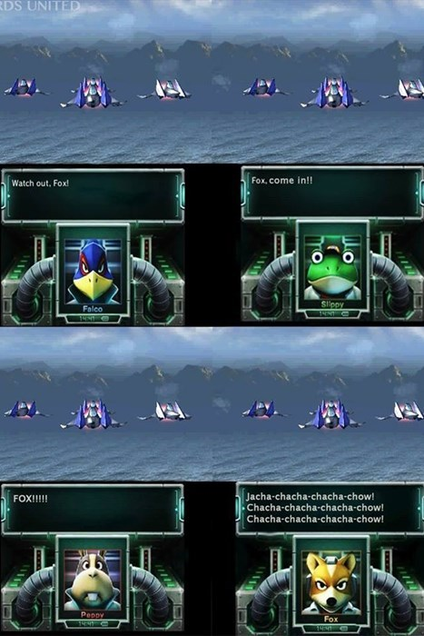 Star Fox what does the fox say? video games - 7829926144