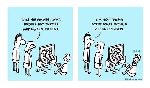 violence video games web comics - 7829939968