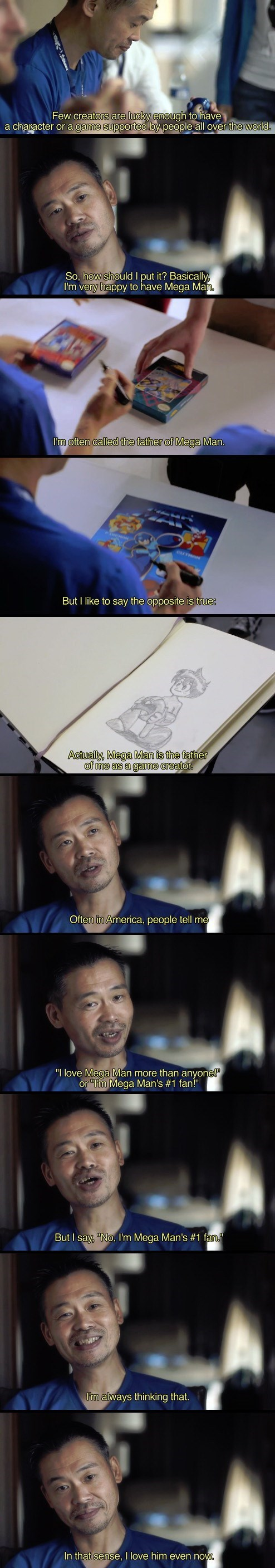 awesome,mega man,Keiji Inafune,developers