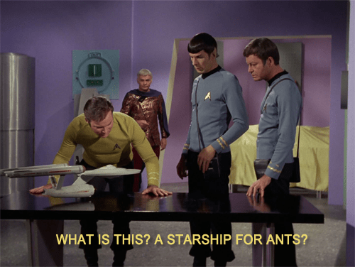 TOS zoolander Star Trek - 7830103040