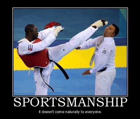 sportsmanship martial arts funny - 7830131712