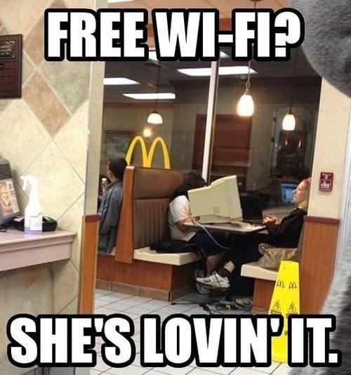 McDonald's idiots fast food - 7830211584