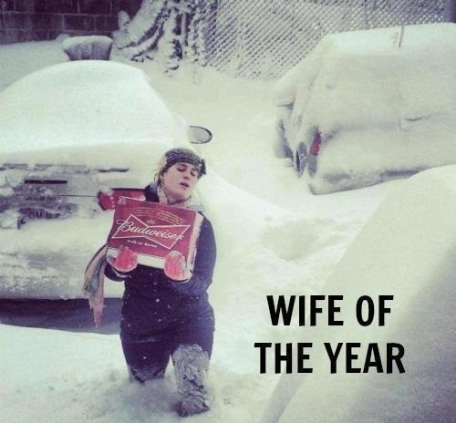 beer,snow,wife,relationships