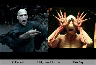 voldemort,pans-labyrinth,totally looks like,funny
