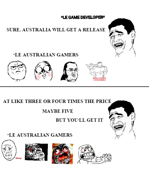 australia gamers developers