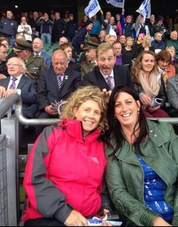 photobomb Taoiseach Ireland - 7831101696