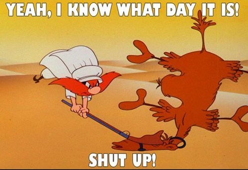 hump day camels yosemite sam cartoons - 7831273984