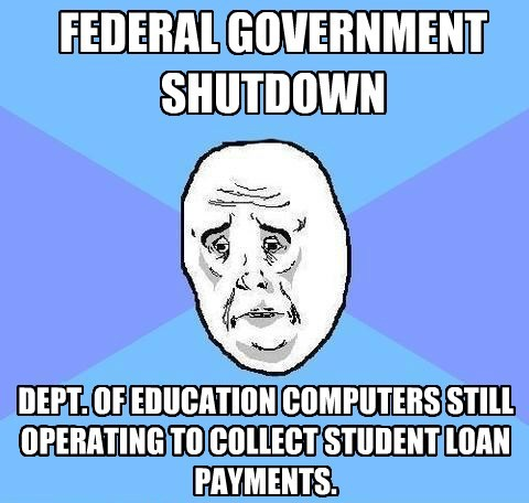 government shutdown Memes okay face - 7831682816