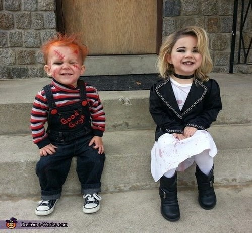 Adorably Creepy Child's Play Kids Costumes
