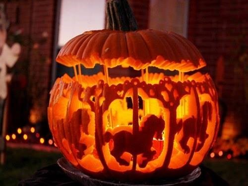 epic carousel jack o lanterns pumpkin carving g rated - 7831687680