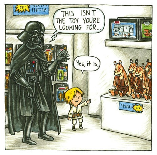 star wars,jar jar binks,darth vader,web comics