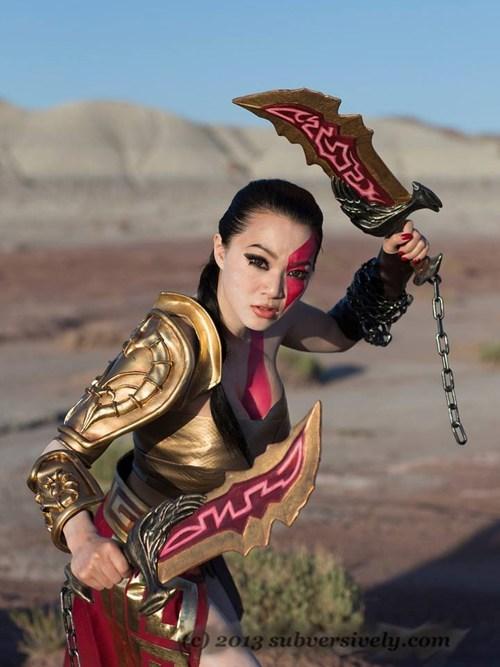 god of war cosplay rule 63 - 7831751936
