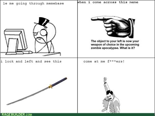 swords zombie computer guy - 7831800576