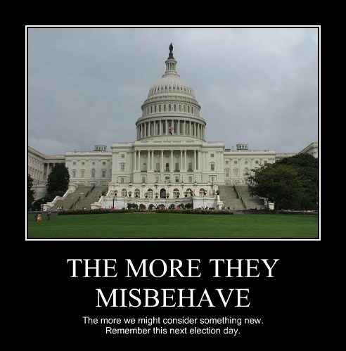 THE MORE THEY MISBEHAVE