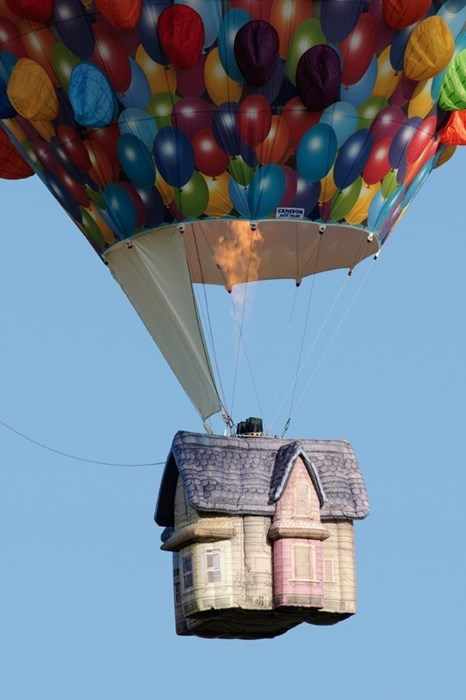 design Hot Air Balloon cute pixar funny - 7831816704