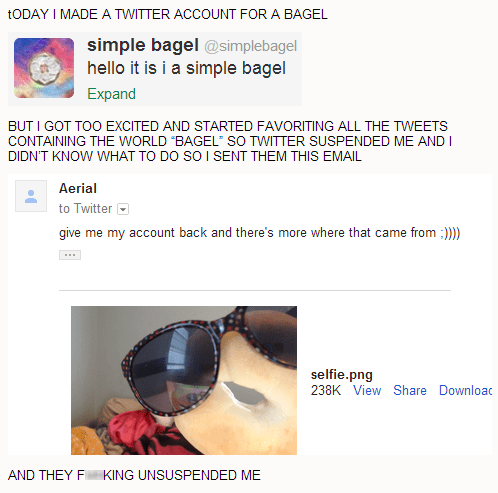 bagels simple bagel failbook
