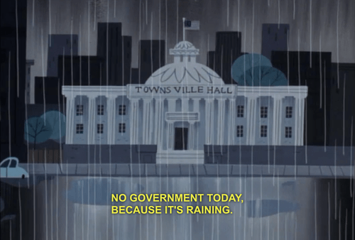 government shutdown powerpuff girls cartoons - 7831918080