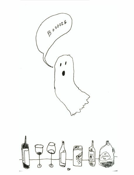 ghost booze drunk boo - 7831934208