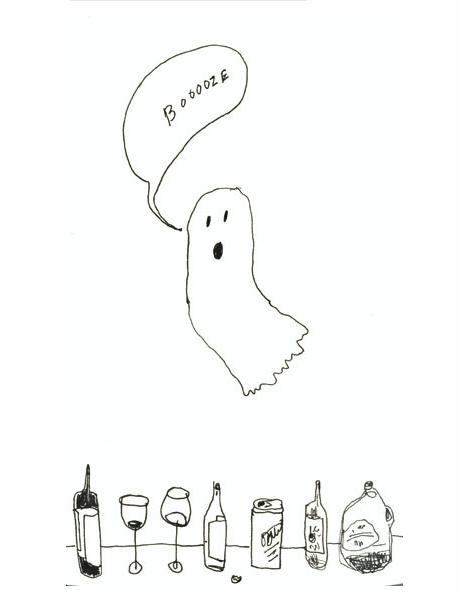 ghost booze drunk boo - 7831934208