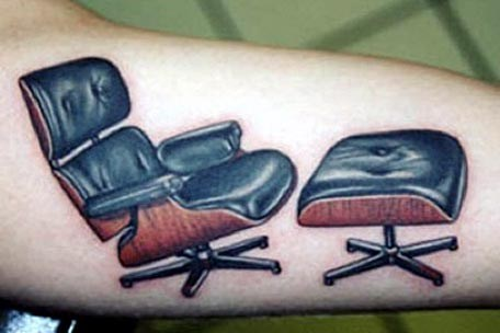 wtf office chairs tattoos funny - 7831988992