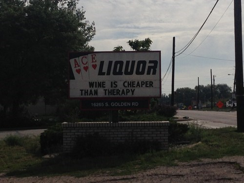 sign therapy wine funny liquor store after 12 g rated