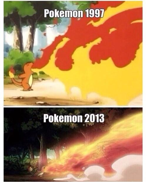 Pokémon anime nostalgia charmander - 7832709632
