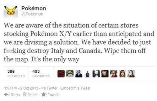 Pokémon twitter fake funny - 7833128192