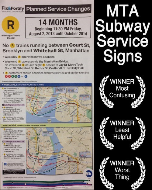 Awards,Subway