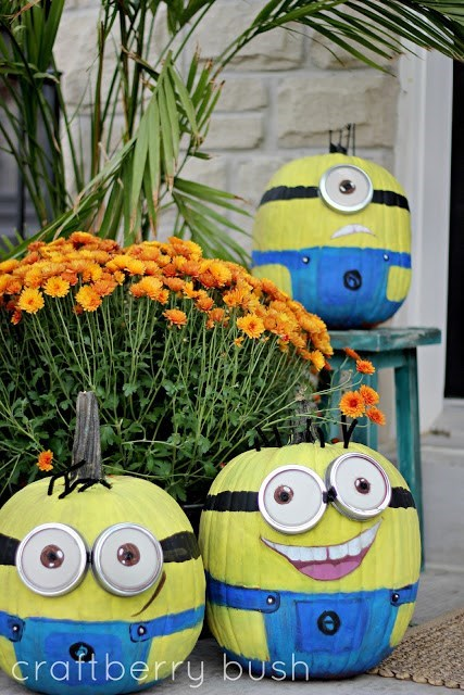 despicable me pumpkins halloween funny ghoulish geeks g rated - 7833522176