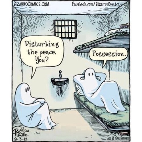 halloween puns ghosts web comics - 7833537024