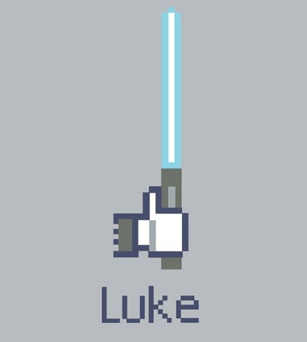 lightsaber star wars facebook - 7833537536