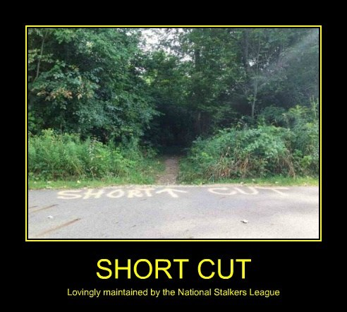 wtf dodgy stalkers short cut funny - 7833834240