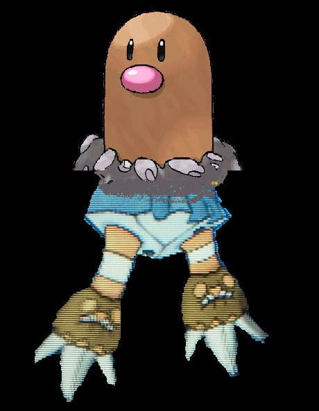 diglett wednesday diglett binacle - 7834465024