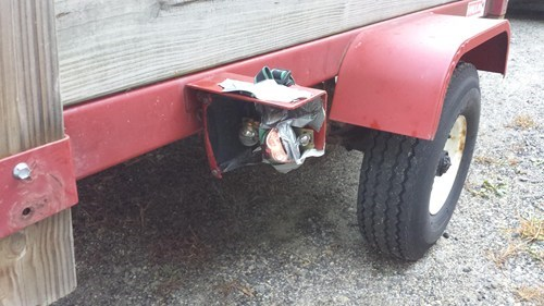 trailers lights duct tape there I fixed it headlamp g rated - 7834508800
