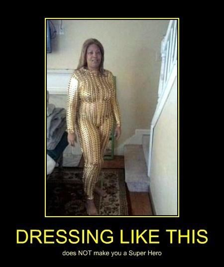 costume dressing superhero funny