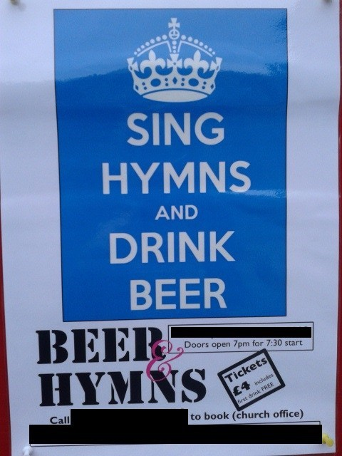 WIN: Potentially the greatest poster on a church notice board ever??!!