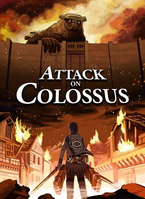 crossover art attack on titan - 7834902016